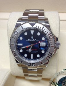 Rolex Yacht-Master 40 116622 Blue Dial