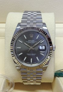Rolex Datejust 41mm 126334 Rhodium Dial Unworn