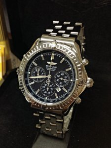 Breitling Shadow Flyback A35312 Black Dial