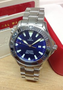 Omega Seamaster 300M 2265.80.00 41mm Blue Dial