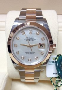 Rolex Datejust 41mm 126301 Bi/Colour Unworn