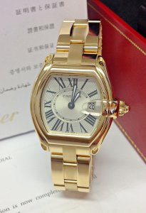 Cartier Roadster Yellow Gold W62018V1