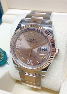 Rolex Datejust 36mm 126231 Rose Diamond Unworn