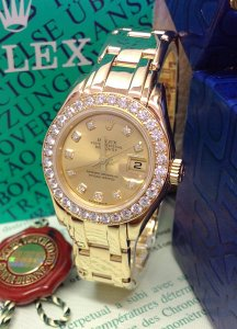 Rolex Pearlmaster 29mm 80298 Diamond Bezel