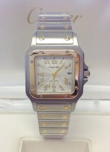 Cartier Santos Galbee W20041C4 Bi/Colour 29mm
