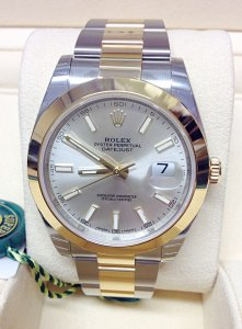 Rolex Datejust 41mm 126303 Bi/Colour