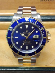 Rolex Submariner Date Bi/Colour 16613 Blue Dial