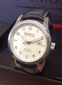 Bremont Solo Polished White SOLO/PW