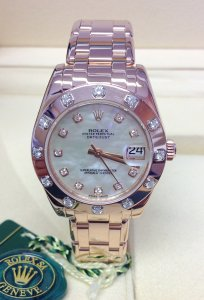 Rolex Pearlmaster 34mm 81315 Rose Gold