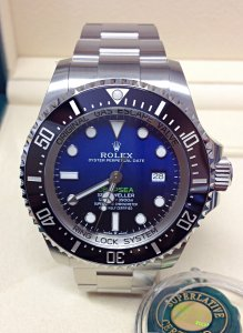 Rolex Deepsea Sea-Dweller 126660 D-Blue Unworn