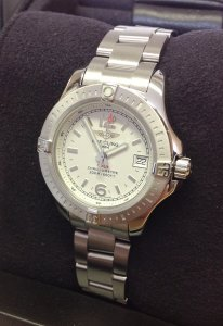 Breitling Colt Lady A77388 Silver Dial
