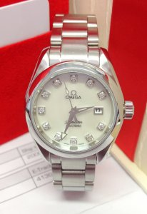 Omega Seamaster Aqua Terra 2577.75.00 Ladies 29mm