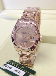 Rolex Pearlmaster 29mm 80315 Rose Gold