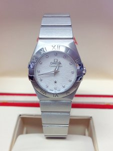Omega Constellation Quartz 123.10.24.60.55.004