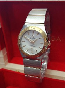 Omega Constellation Quartz 24mm 123.20.24.60.55.004