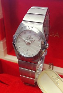 Omega Constellation Quartz 123.10.24.60.55.003