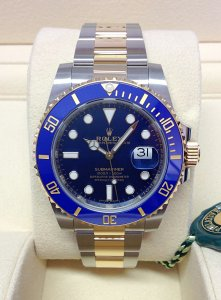 Rolex Submariner Date 116613LB Bi/Colour