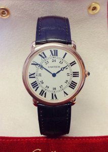 Cartier Ronde Louis W6800251 Rose Gold