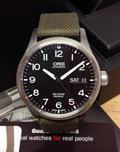 Oris Big Crown ProPilot 01 752 7698 4164