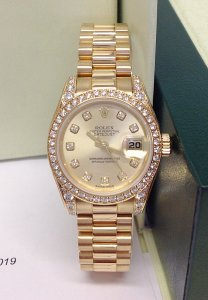 Rolex Datejust Lady 179158 26mm Diamond Bezel & Shoulders