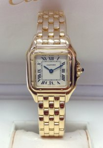 Cartier Panthere W25022B9 22mm Yellow Gold