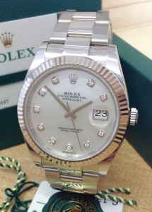Rolex Datejust 41mm 126334 M.O.P Diamond