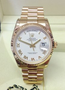 Rolex Day-Date 118238 Yellow Gold