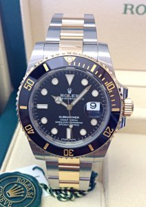 Rolex Submariner Date 116613LN Bi/Colour Black
