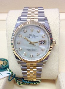 Rolex Datejust 36mm 126233 MOP Diamond Unworn