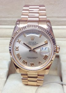 Rolex Day-Date 118235 36mm Rose Gold