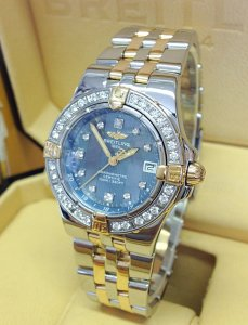 Breitling Starliner B71340 Bi/Colour Diamond Bezel