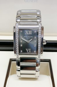 Patek Philippe 24 4910/10A Eternal Grey Diamond Dial