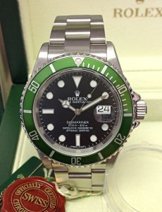 Rolex Submariner 16610LV 50th Anniversary