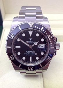 Rolex Submariner Date 116610LN Black Ceramic