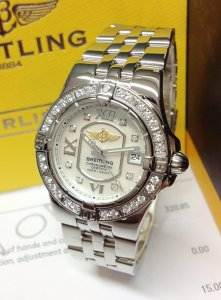 Breitling Starliner A7134053 Diamond Bezel