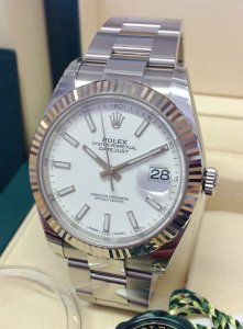 Rolex Datejust 41mm 126334 White Dial