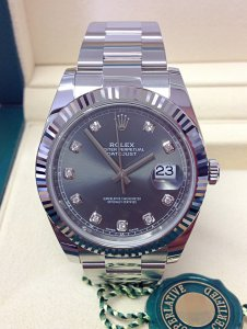 Rolex Datejust 41mm 126334 Rhodium Diamond