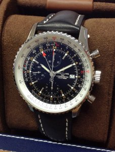 Breitling Navitimer A24322 Chronograph GMT 46 Unworn
