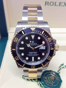 Rolex Submariner Date 116613LN Bi/Colour