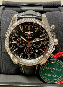 Breitling for Bentley Barnato A25368 Black Dial