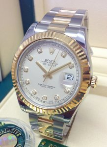 Rolex Datejust II 116333 Bi/Colour