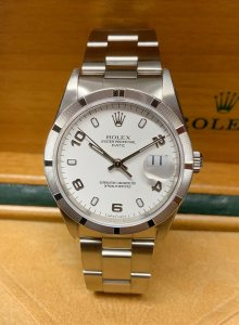 Rolex Oyster Perpetual Date 15210 34mm