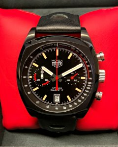 Tag Heuer Monza CR2080.FC6375 Black Dial