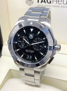 Tag Heuer Aquaracer WAY111Z Black Dial
