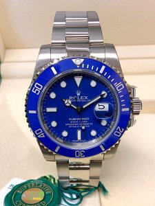 Rolex Submariner Date 116619LB White Gold