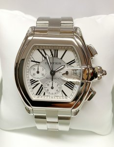 Cartier Roadster XL Chronograph W62006X6
