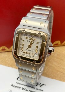 Cartier Santos Galbee W20057C4 Ladies 24mm