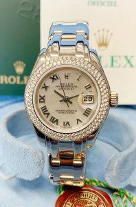 Rolex Pearlmaster 29mm 80339 White Gold