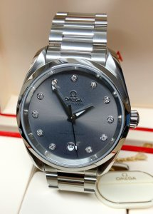 Omega Seamaster Aqua Terra 220.10.38.20.56.001 Ladies 38mm