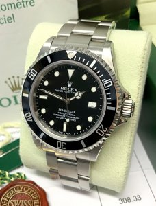 Rolex Sea-Dweller 16600 Black Dial